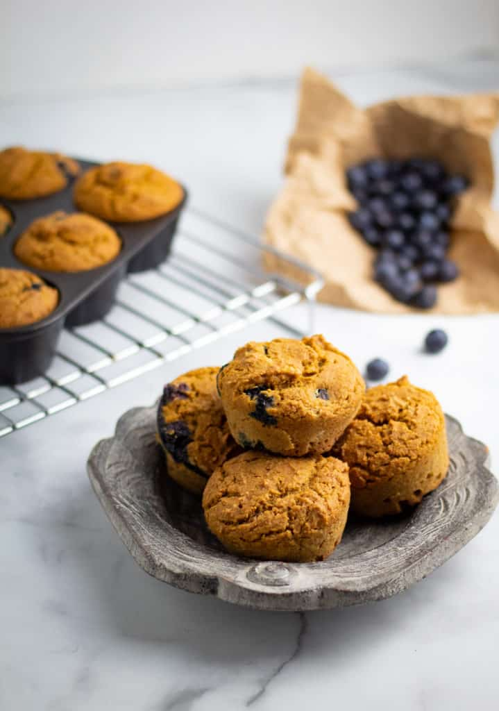 Best Vegan Blueberry Muffins