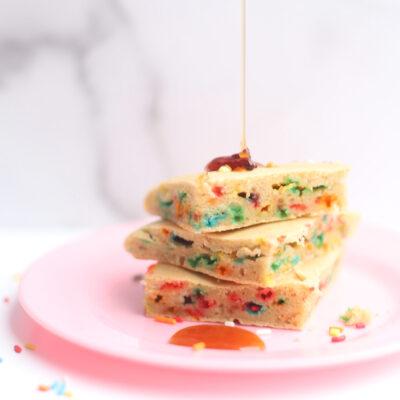 Homemade Sheet Pan Pancakes - Kid-Friendly Cookie Cutter Cutout Shapes Pancakes - Recipe - GLITTERINC.COM