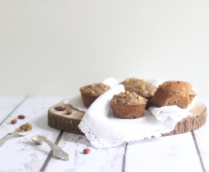 Healthy Gluten-Free Apple Cinnamon Almond Muffins
