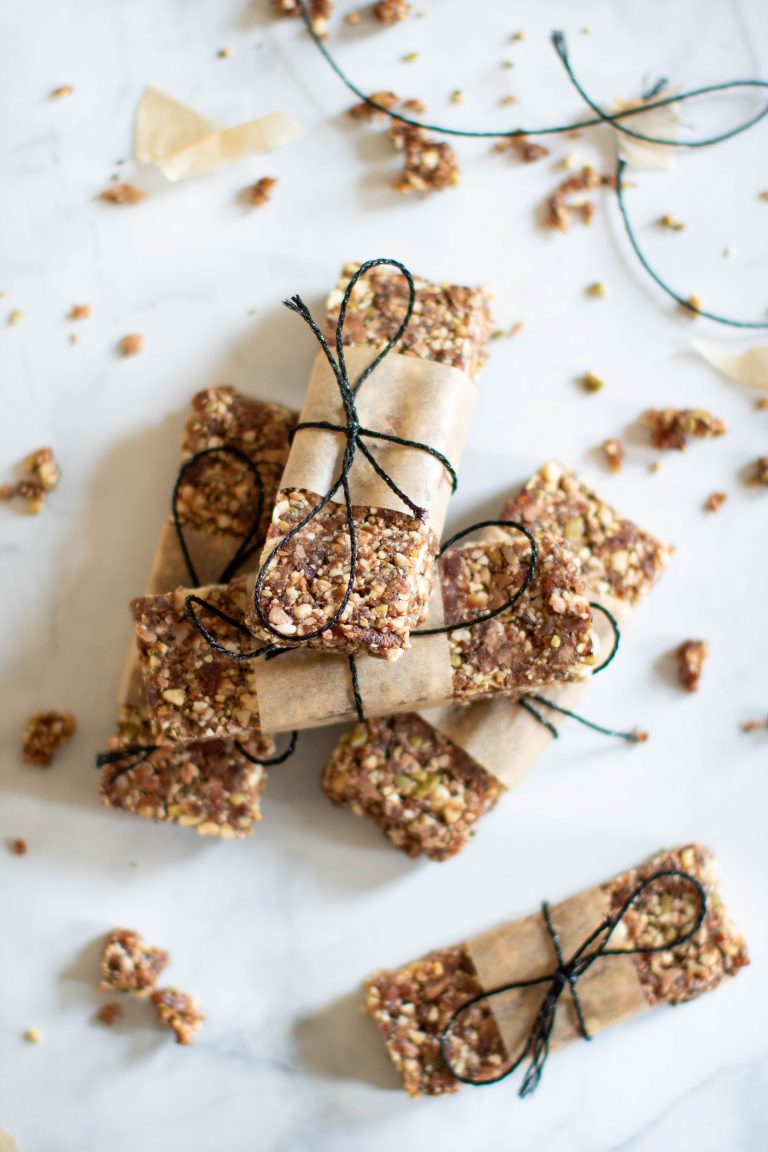 No-Bake Cacao Date Loaded Energy Bars On-the-Go and Make-Ahead Breakfast Recipes