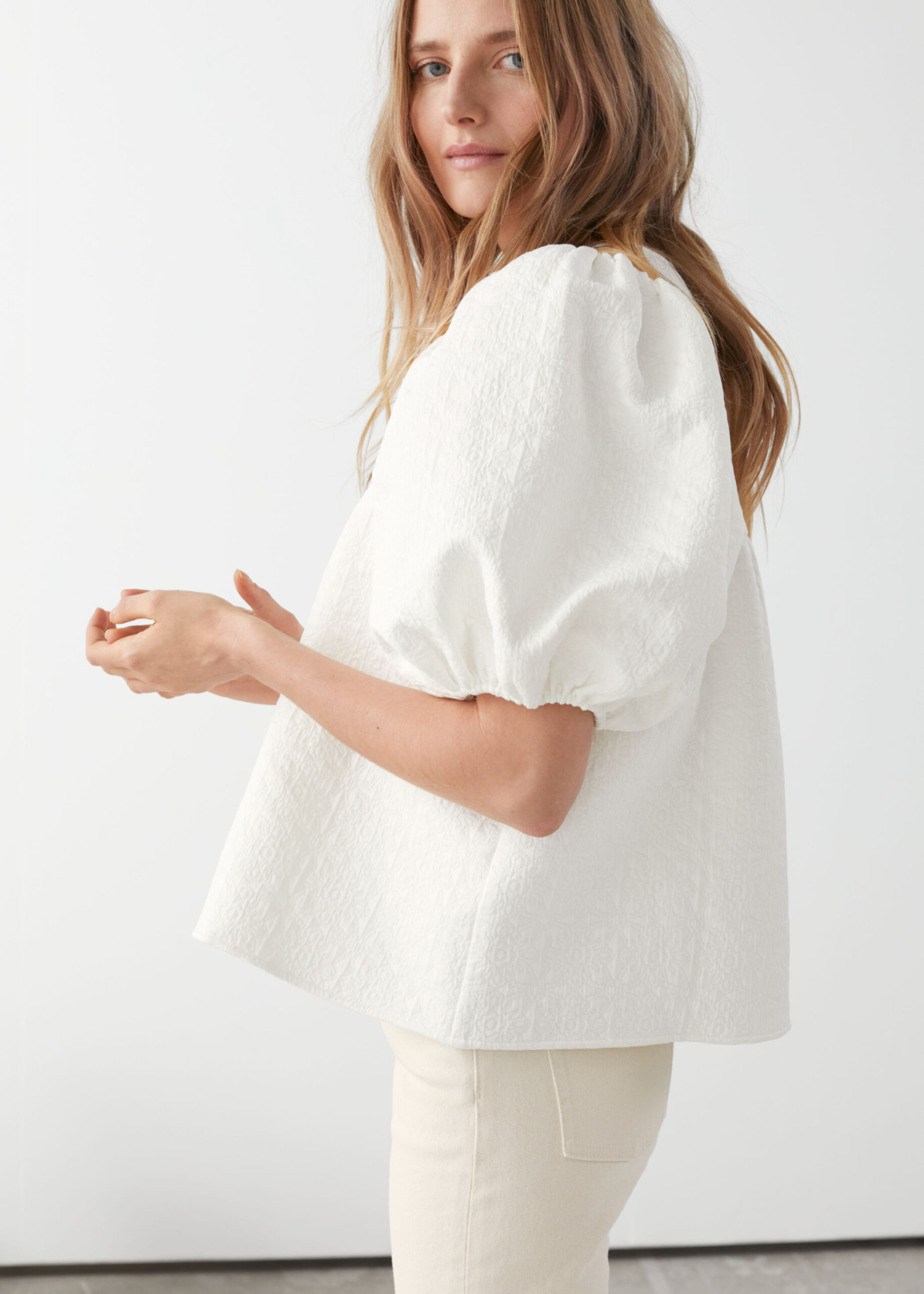 WEEKLY FINDS; including the Puff Sleeve Jacquard Blouse | Cozy Amazon Slippers