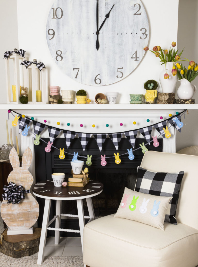 Spring Home Tour for Easter