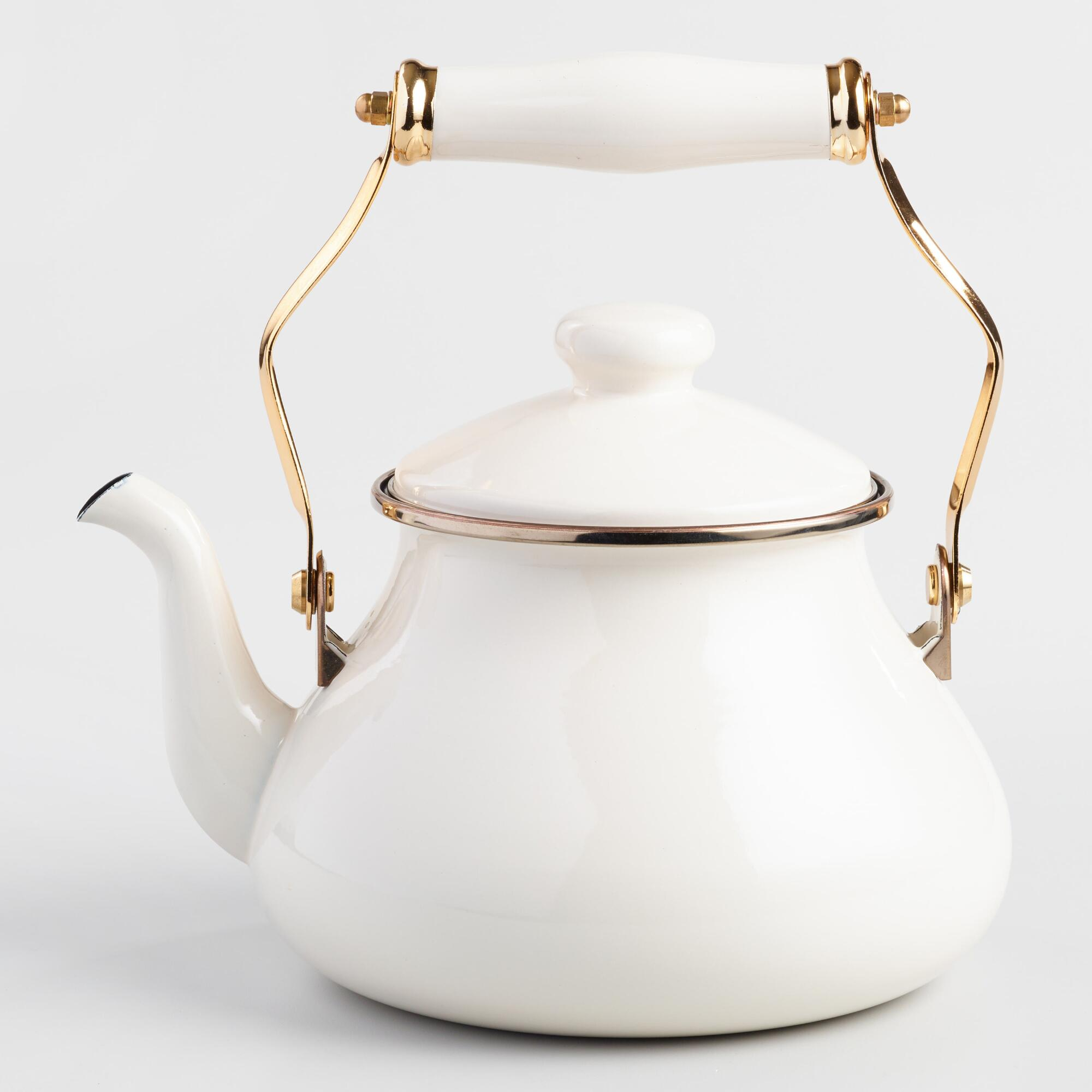 WEEKLY FINDS; including the World Market Ivory Enamel Tea Kettle | Cozy Amazon Slippers