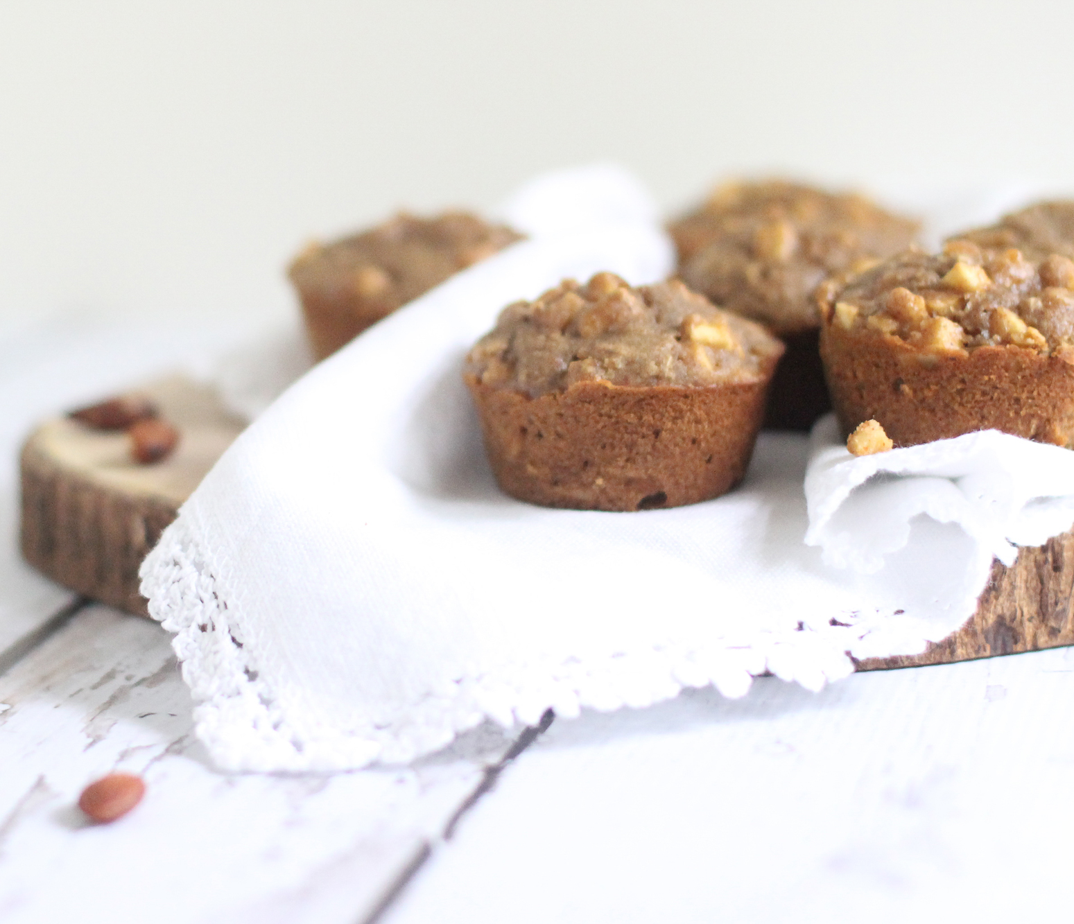 Gluten-Free Apple Cinnamon and Almond Muffins