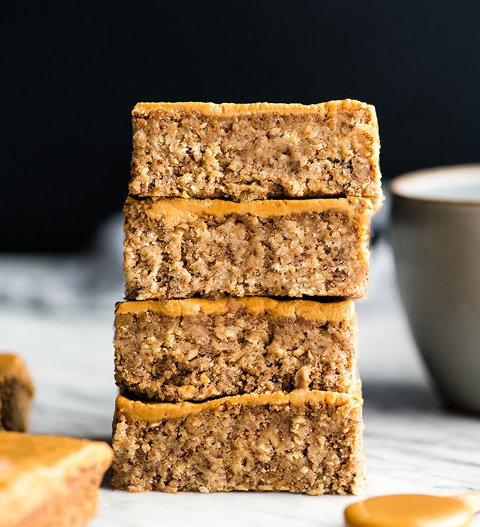 Healthy Peanut Butter Breakfast Bars