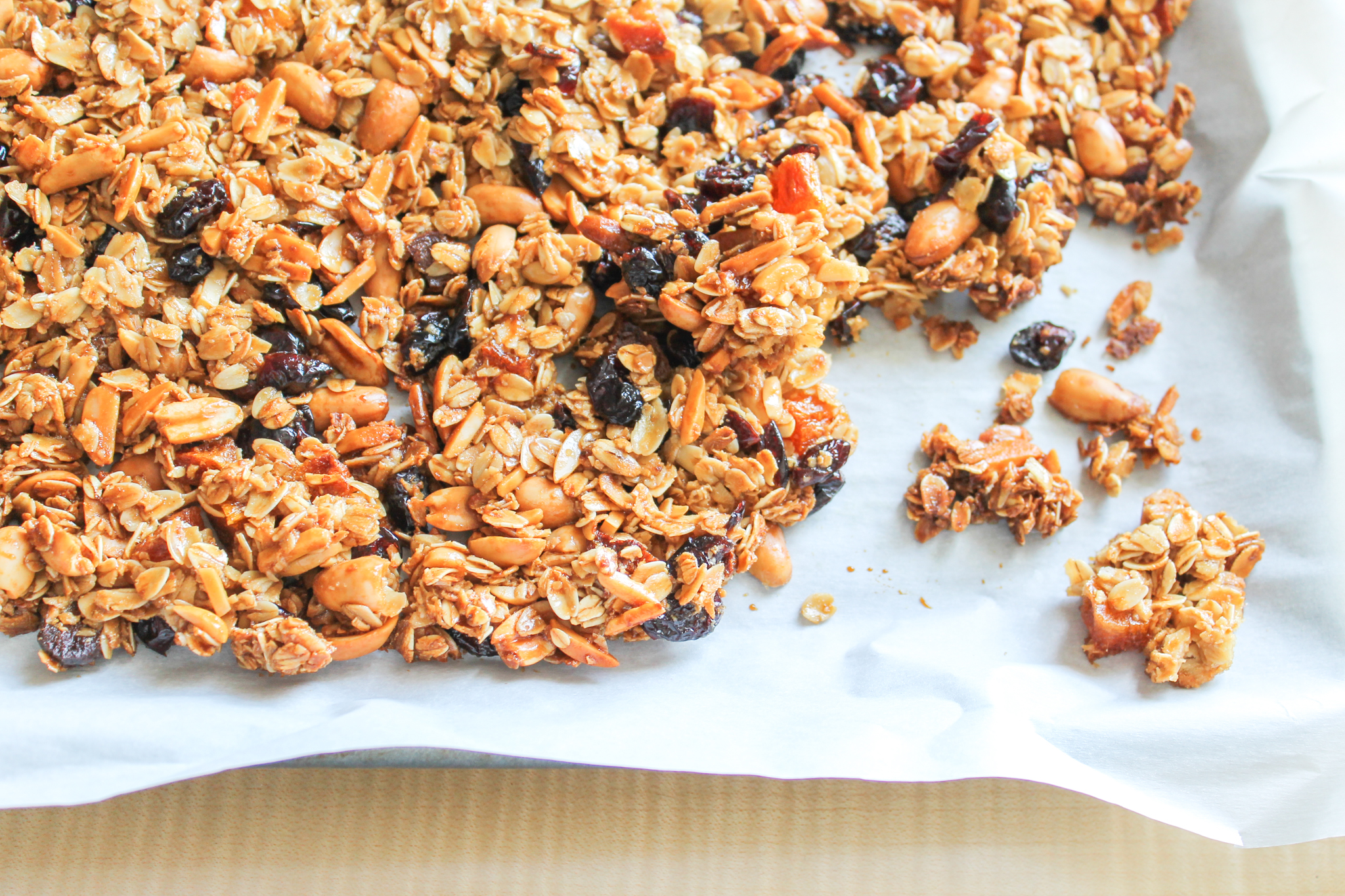 On-the-Go and Make-Ahead Breakfast Recipes Perfect Chewy Clumpy Granola