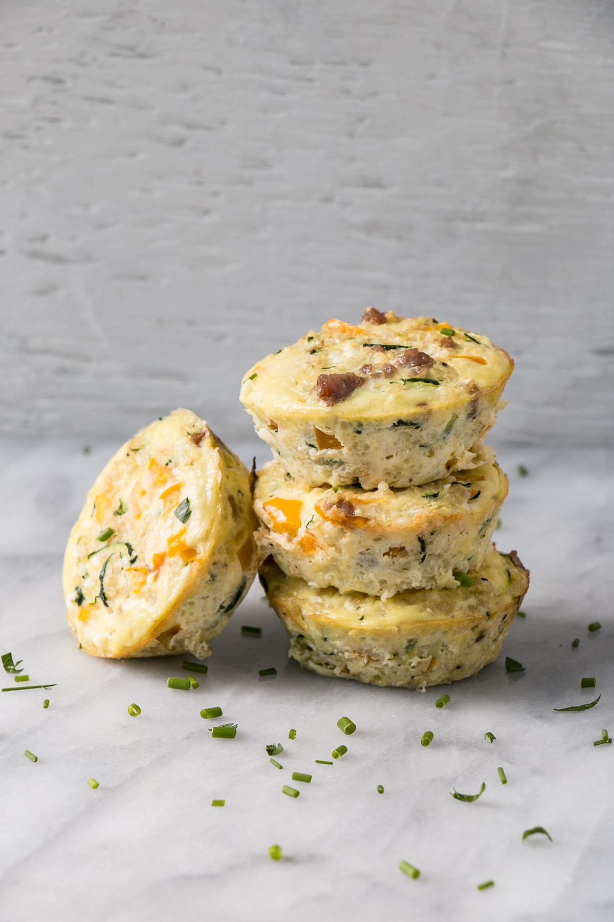 On-the-Go and Make-Ahead Breakfast Recipes Quinoa Frittata Muffins