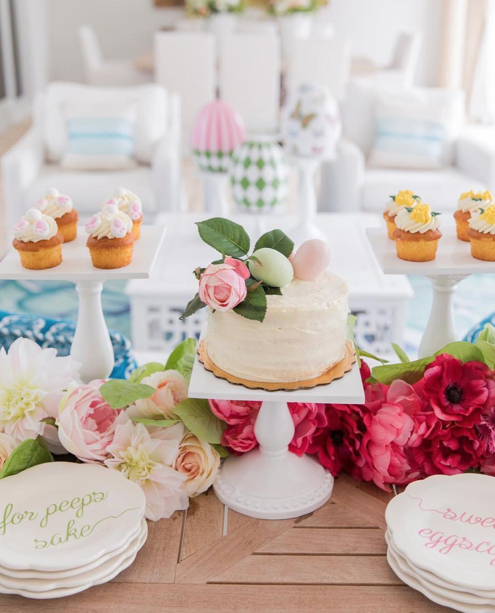 Easter Dessert Bar via @fashionablehostess