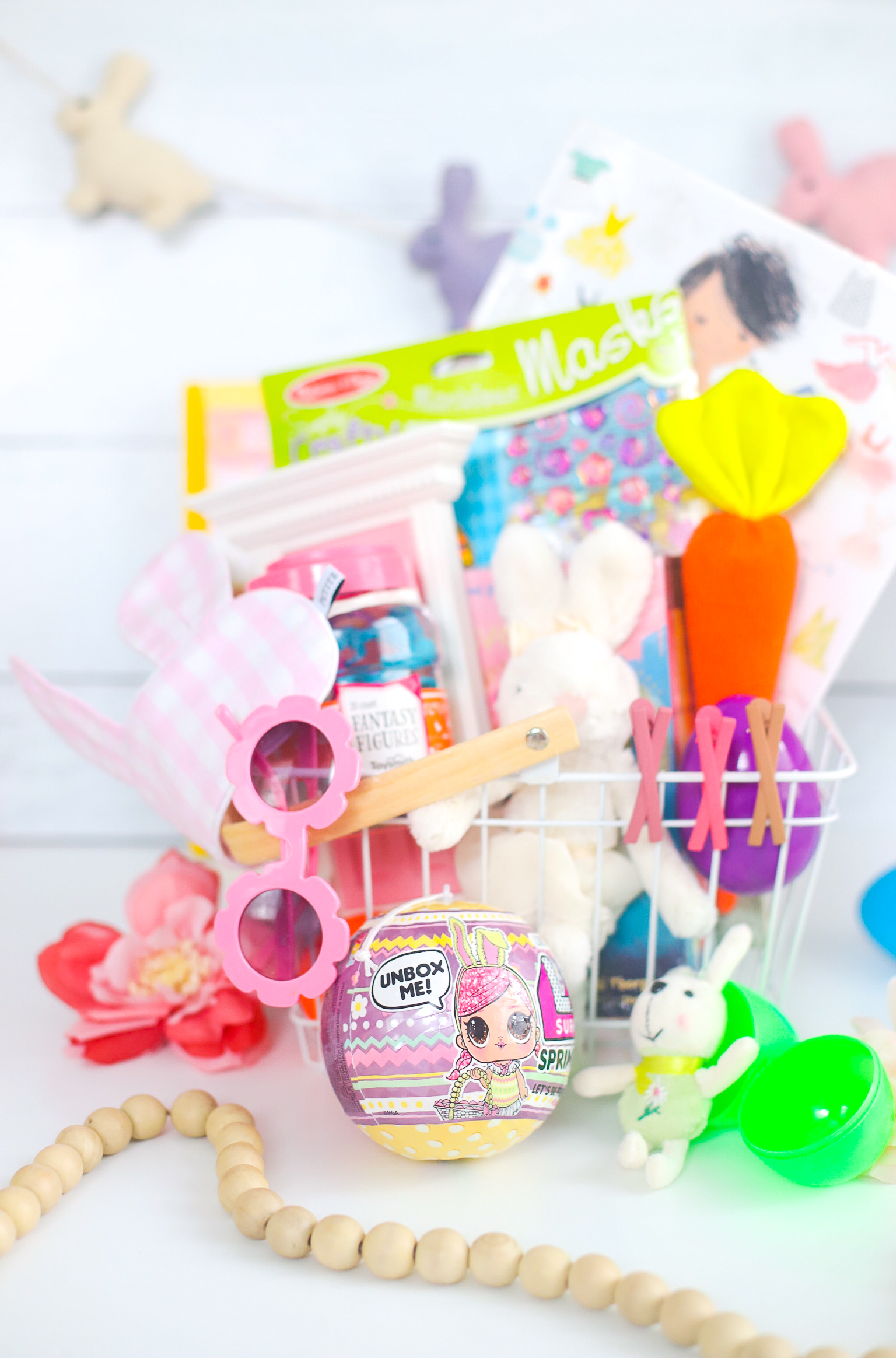 Everything we put in our kids' Easter baskets this year, including the best Easter basket finds for toddlers and young kids! | glitterinc.com | @glitterinc