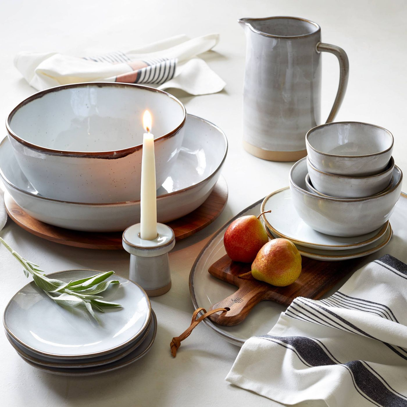 Hearth & Hand with Magnolia Reactive Glaze Plates