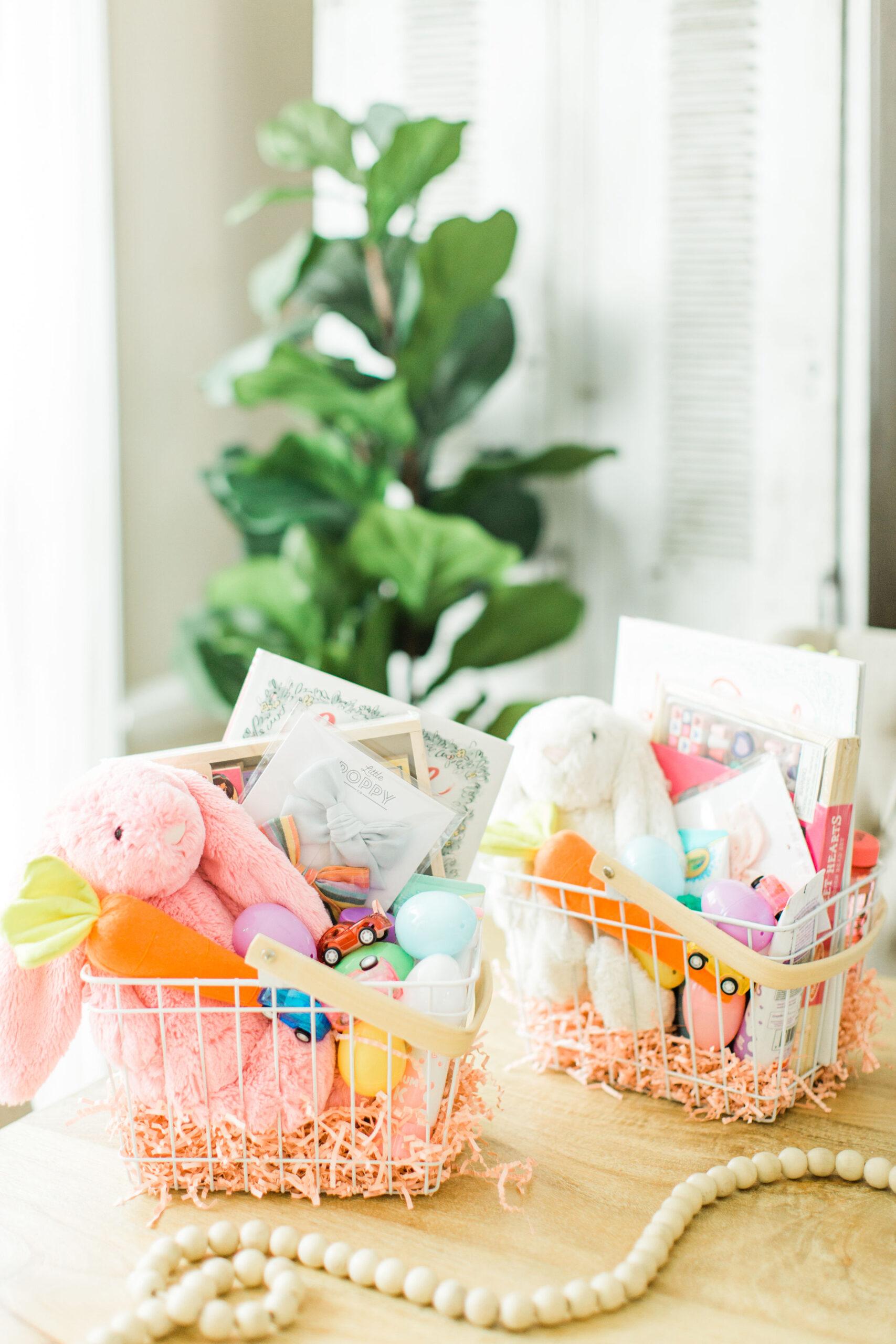 The Cutest DIY Kids Easter Baskets