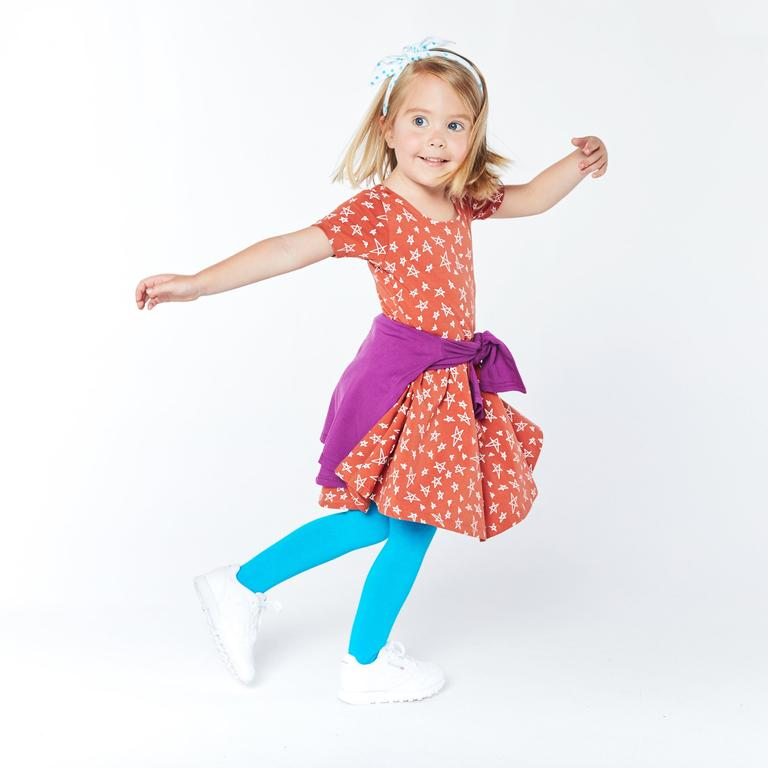 If you have a little girl who loves a great twirly dress, this post is for you! Sharing where to find the very best twirly dresses; a.k.a., skater dresses, for kids. | glitterinc.com | @glitterinc // June + January The Swing Dress