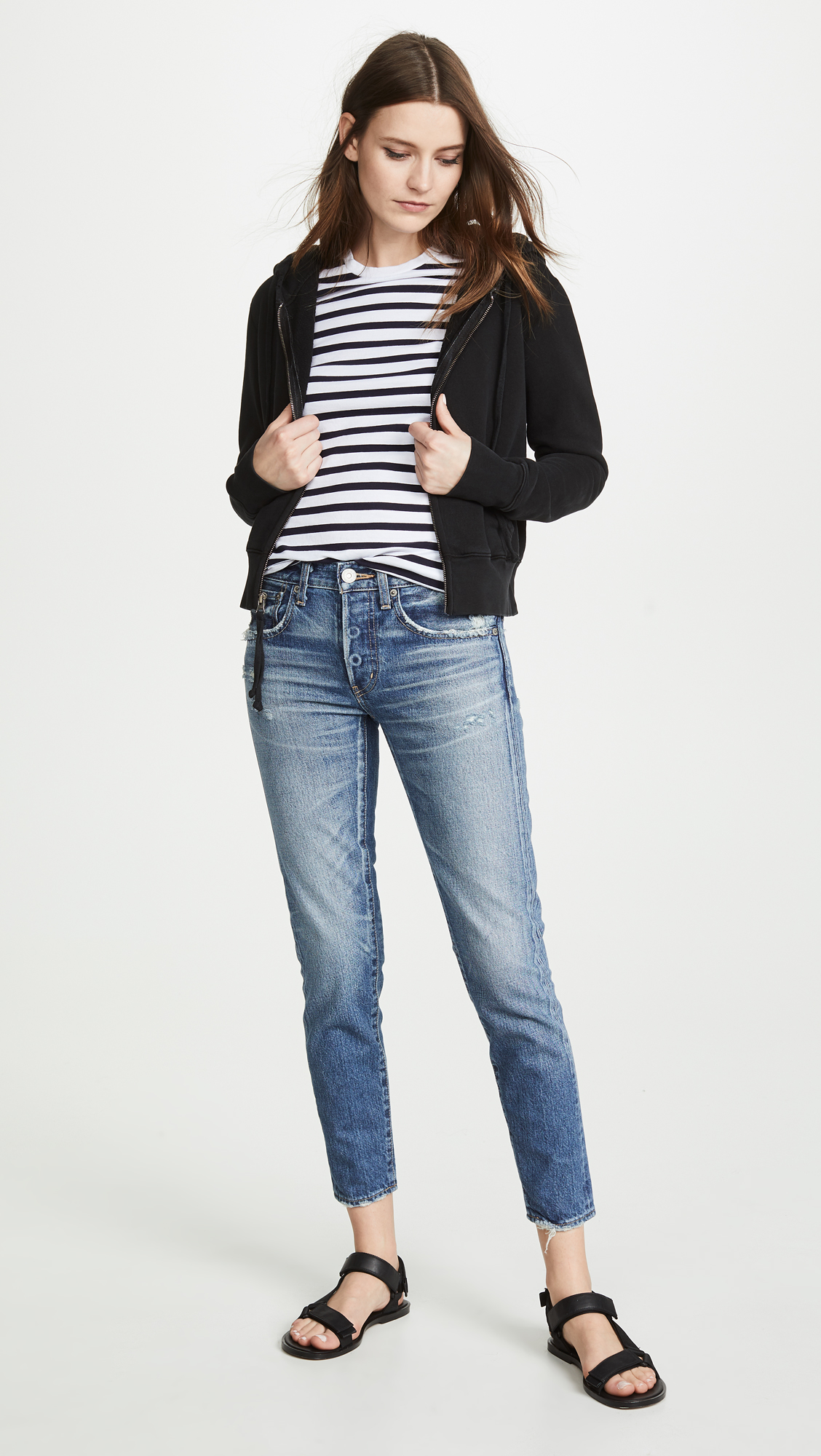 MOUSSY VINTAGE MV Vienna Tapered Jeans