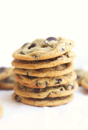 Amazing Dairy Free Chocolate Chip Cookies - Cookie Recipe - Vegan and Gluten Free Option - GLITTERINC.COM