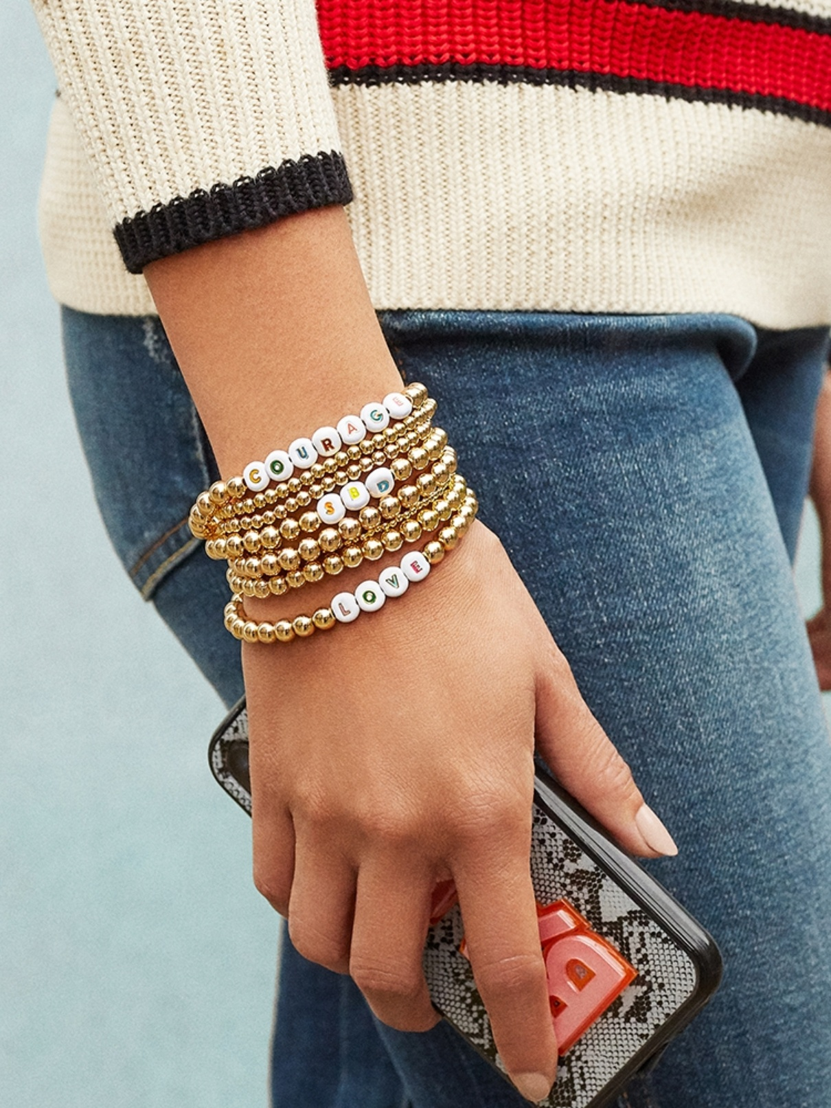 WEEKLY FINDS, Including this Baublebar Personalized Custom Multi Pisa Beaded Bracelet