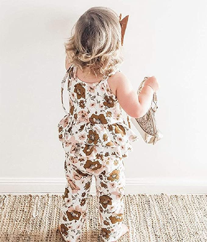 WEEKLY FINDS, Including this Douhoow Toddler Baby Girls Straps Bodysuit Overall Tassel Romper Bell-Bottom Jumpsuit Short Pants
