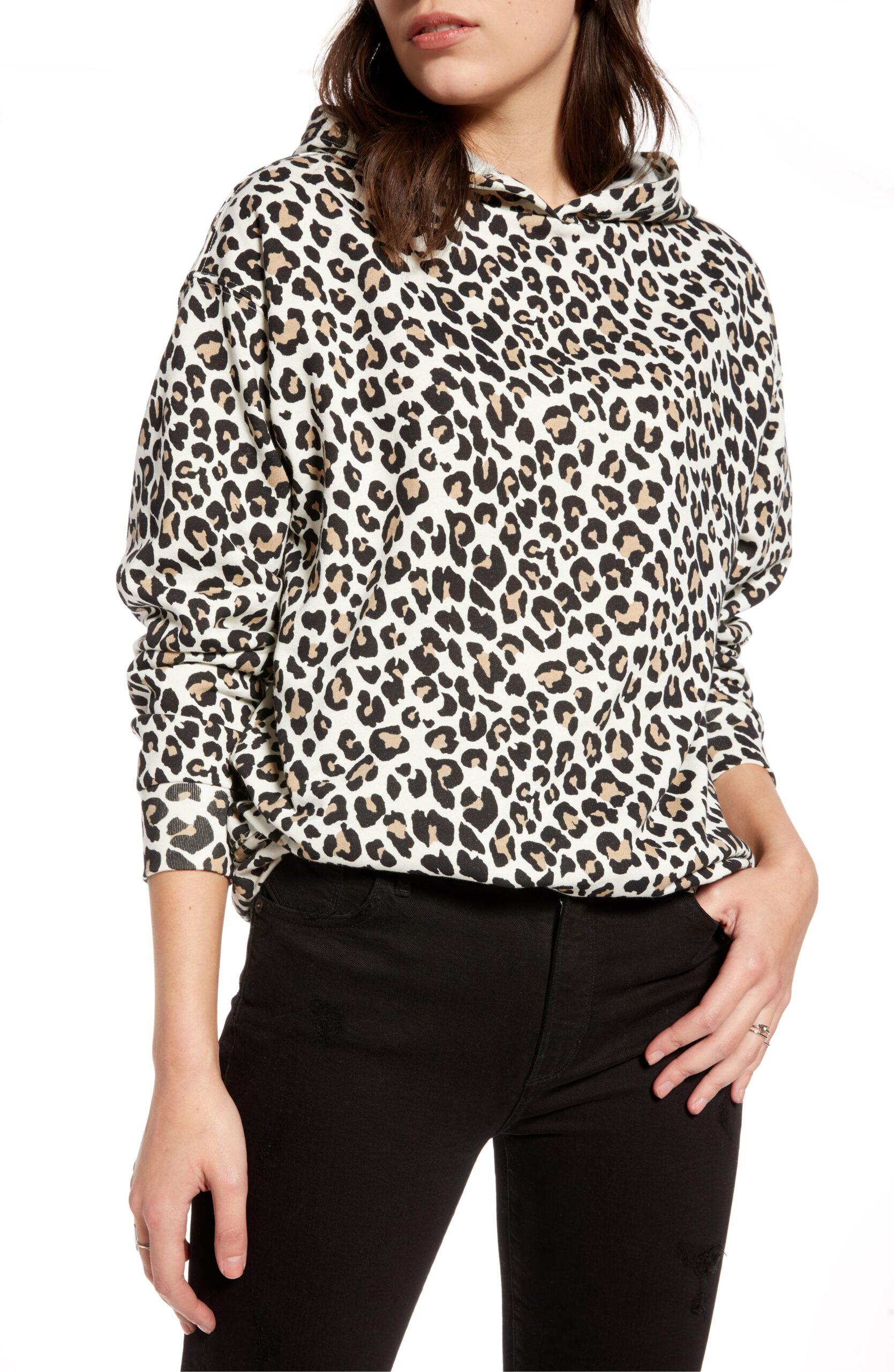 WEEKLY FINDS // TREASURE & BOND Leopard Hoodie