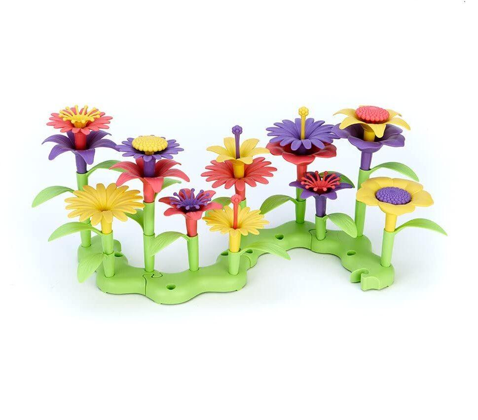 Green Toys Build-a-Bouquet Floral Arrangement Playset