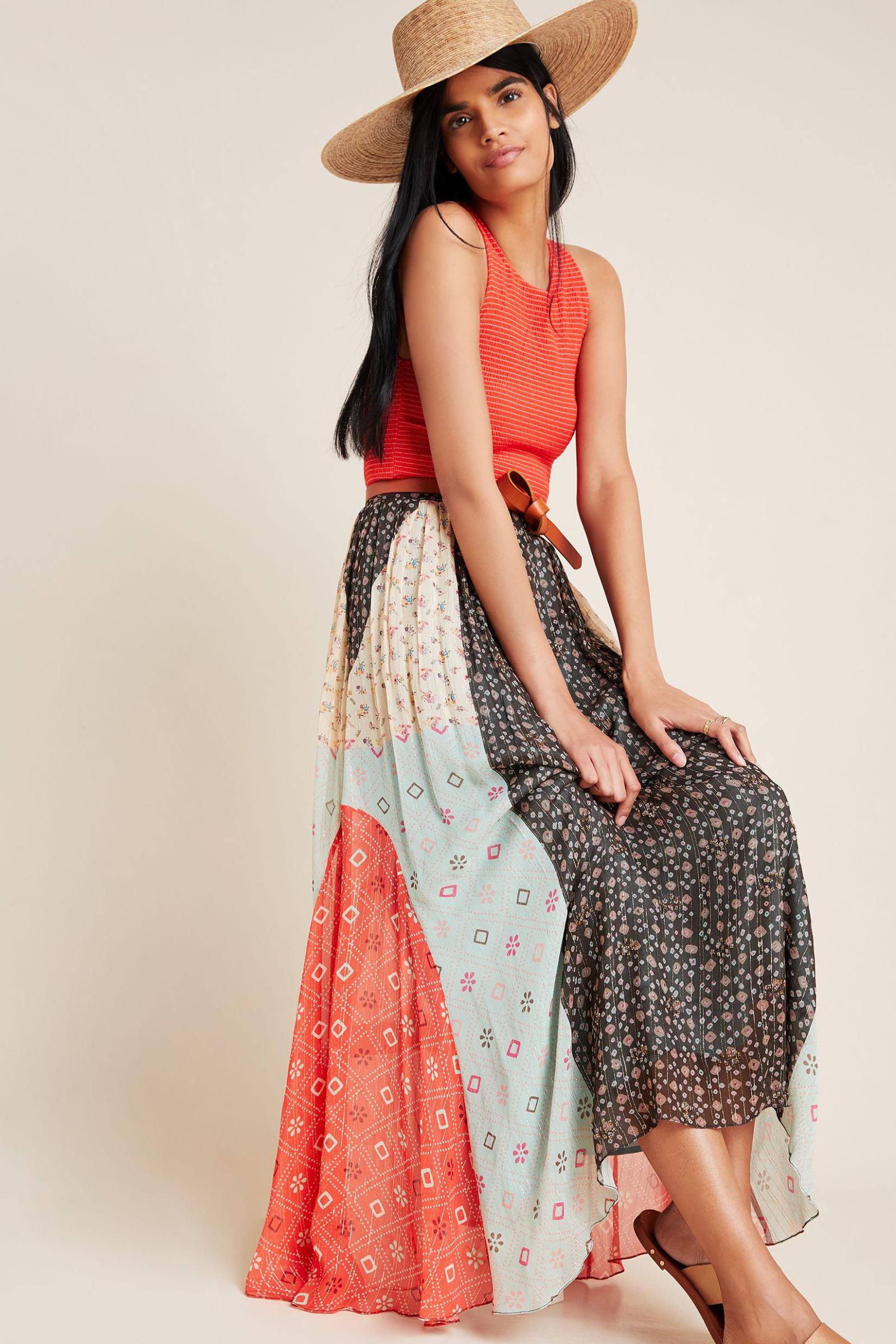 Affordable It Summer Sandals Anthropologie Margot Pleated Maxi Skirt