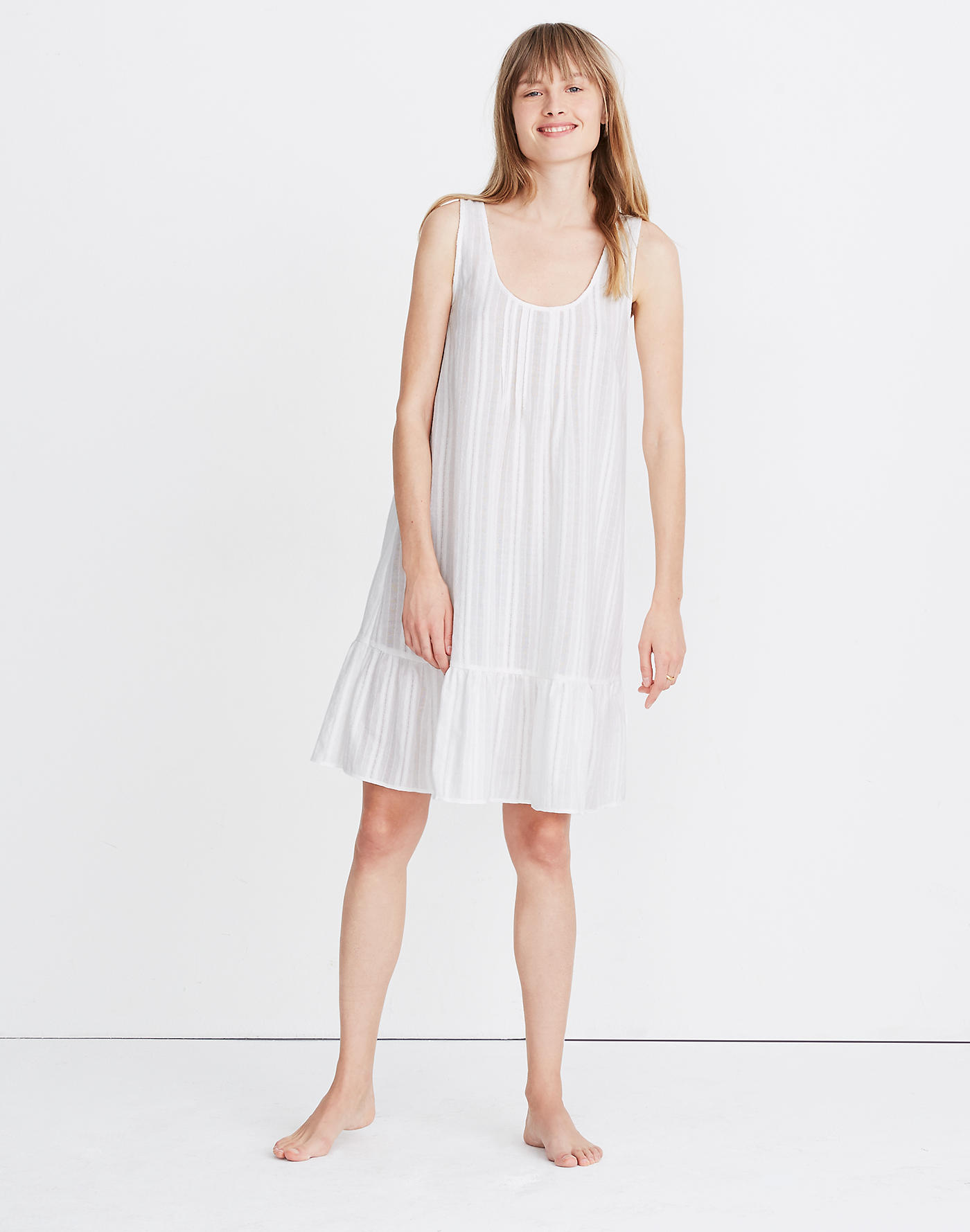 Affordable It Summer Sandals Madewell Pintuck Sleep Dress