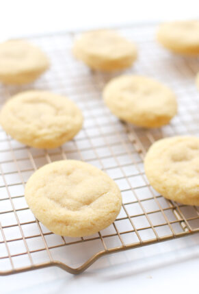 Soft and Chewy Vegan Sugar Cookies - Recipe - GLITTERINC.COM