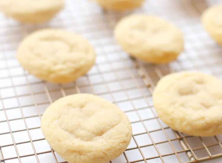 Soft and Chewy Vegan Sugar Cookies - Recipe - GLITTERINC.COM