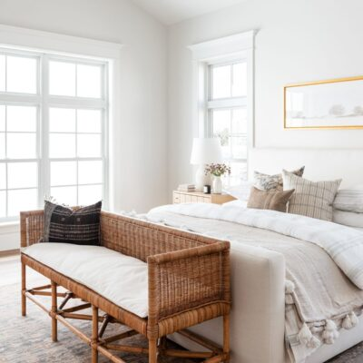 Summer Bedroom Refresh - Memorial Day Sales - Mcgee and Co Odelia Bench.jpg