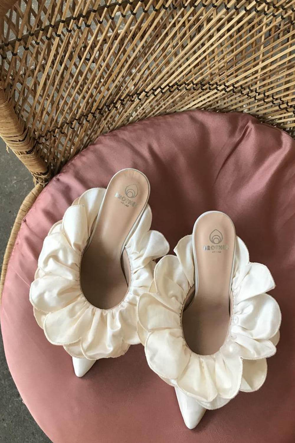 Black-Owned Brands and small shops Stell Mule in Ivory By Brother Vellies