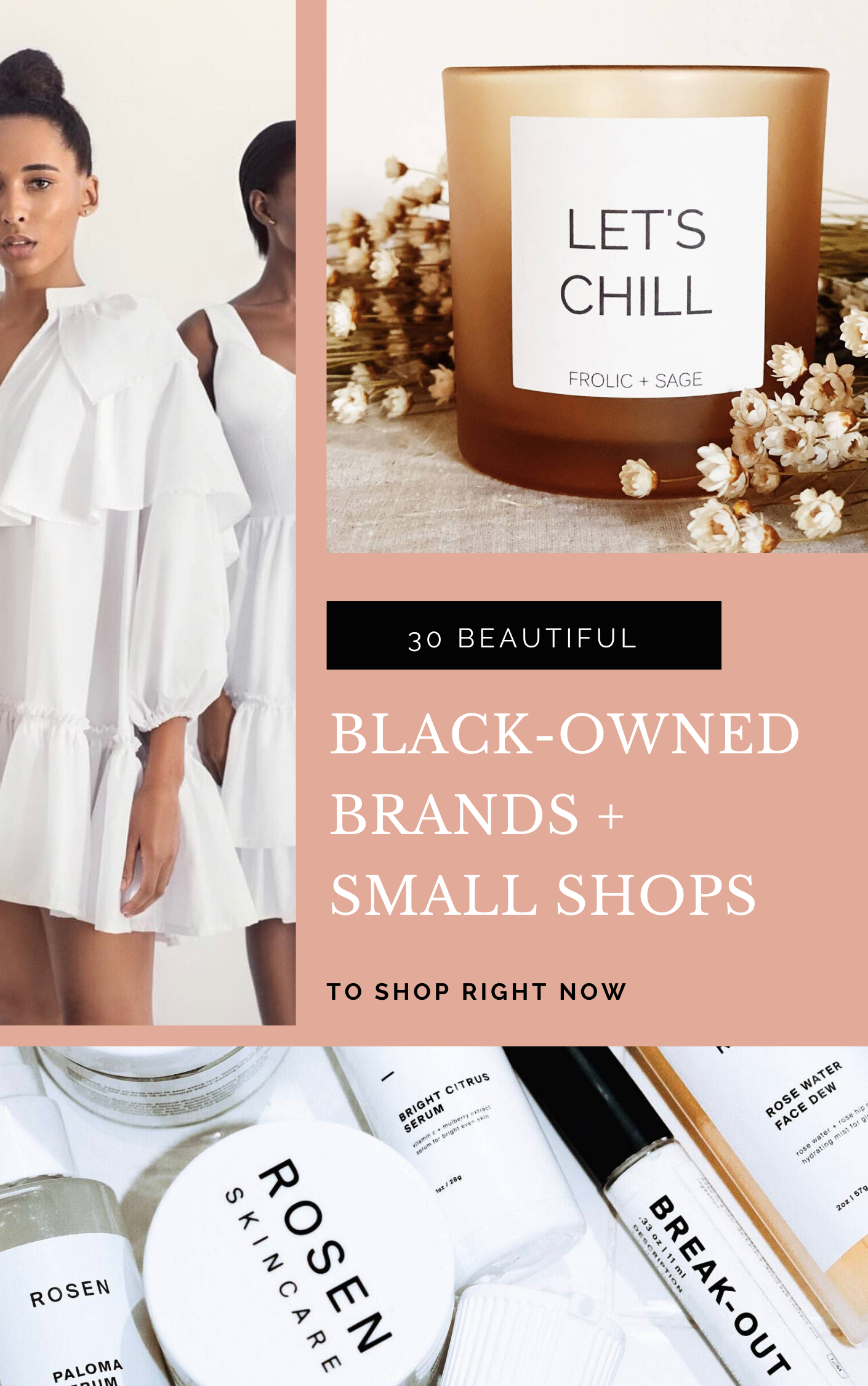 30 Beautiful Black-Owned Brands and Small Shops and Businesses - GLITTERINC.COM