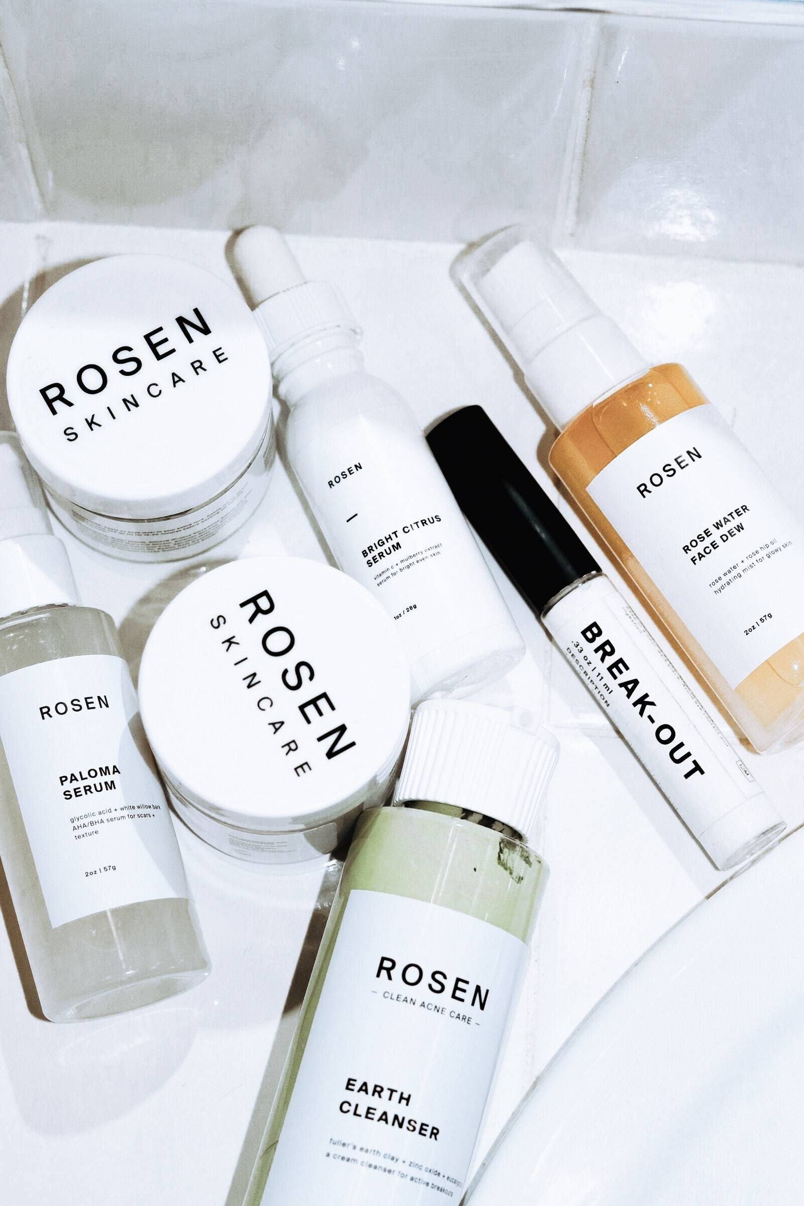 Black-Owned Brands and small shops Rosen Skincare