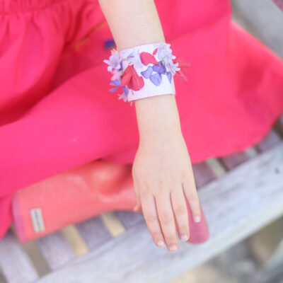 Kids Nature Walk Bracelet DIY Activity - GITTERINC.COM