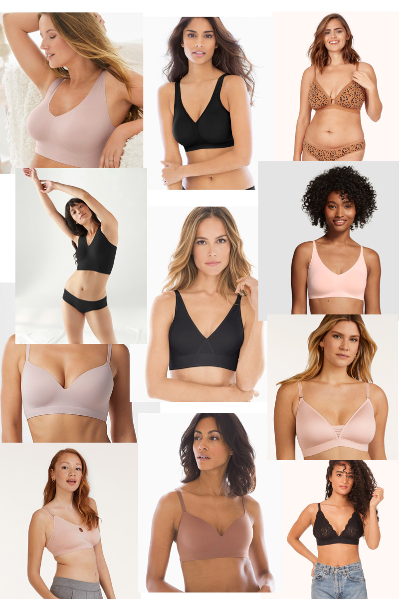 The Very Best Super Soft Wireless Bras and Bralettes Perfect for Working From Home and Lounging - GLITTERINC.COM