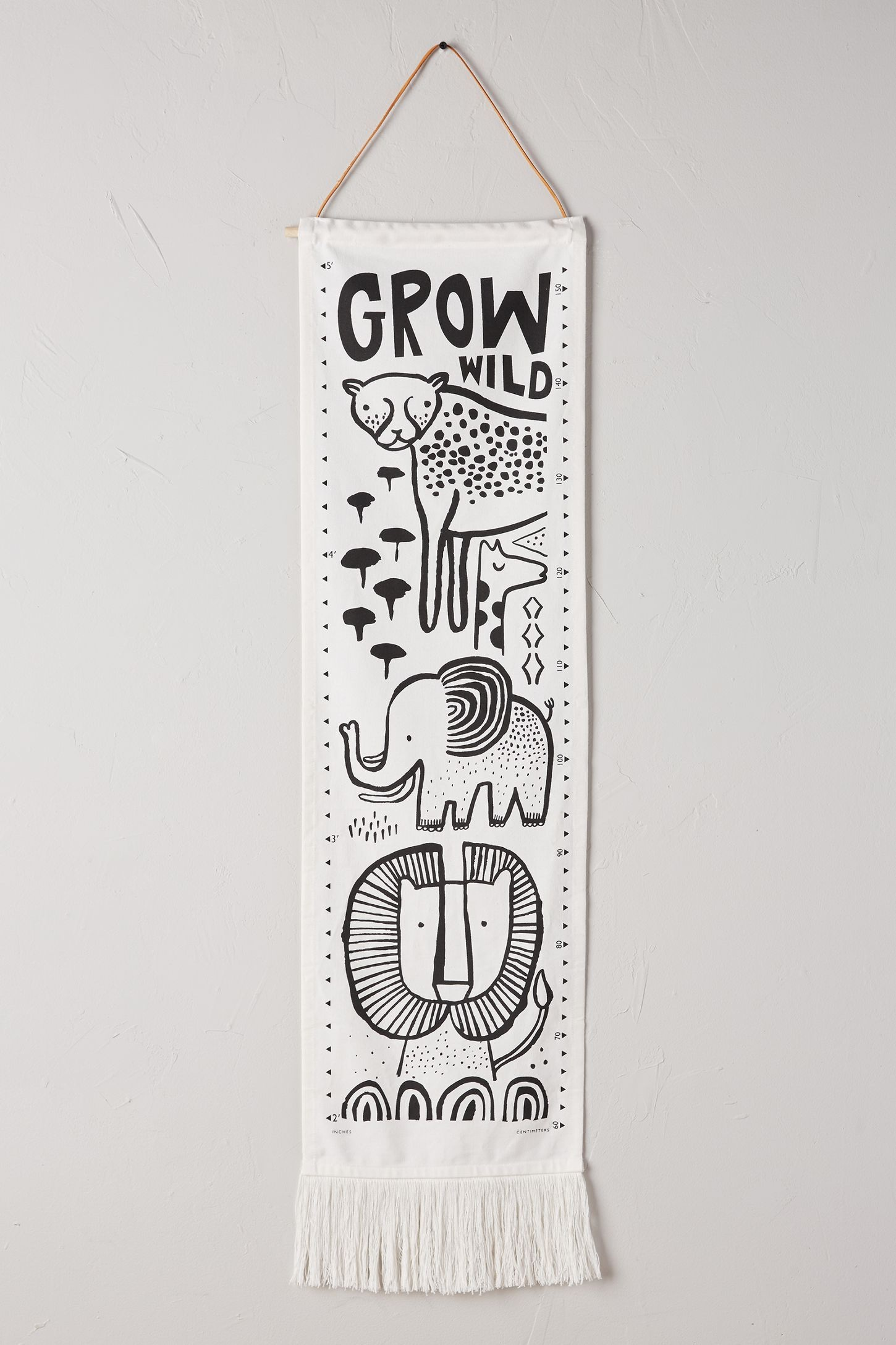 Anthropologie Little One Growth Chart