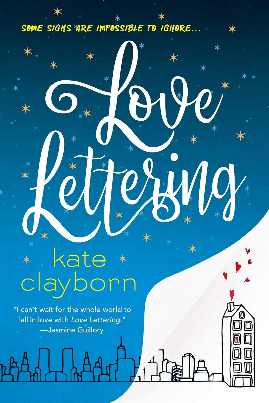 9 Modern Romance Books I Recently Read and Loved // Love Lettering by Kate Clayborn