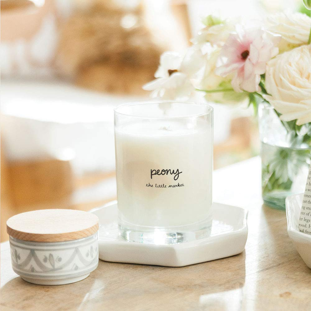 Lauren Conrad x The Little Market launched an Amazon Handmade storefront and every piece from the carefully curated fair trade line is beautiful. // Lauren Conrad x The Little Market Peony Candle