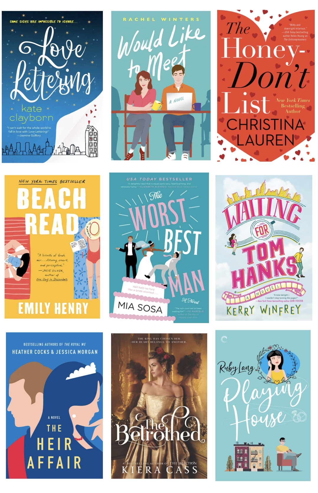 Get cozy and dive into a new romance novel with one of these 9 delightfully good romance books (that I recently read and loved!), all perfect to add to a cold weather reading list!   @glitterinclexi   GLITTERINC.COM