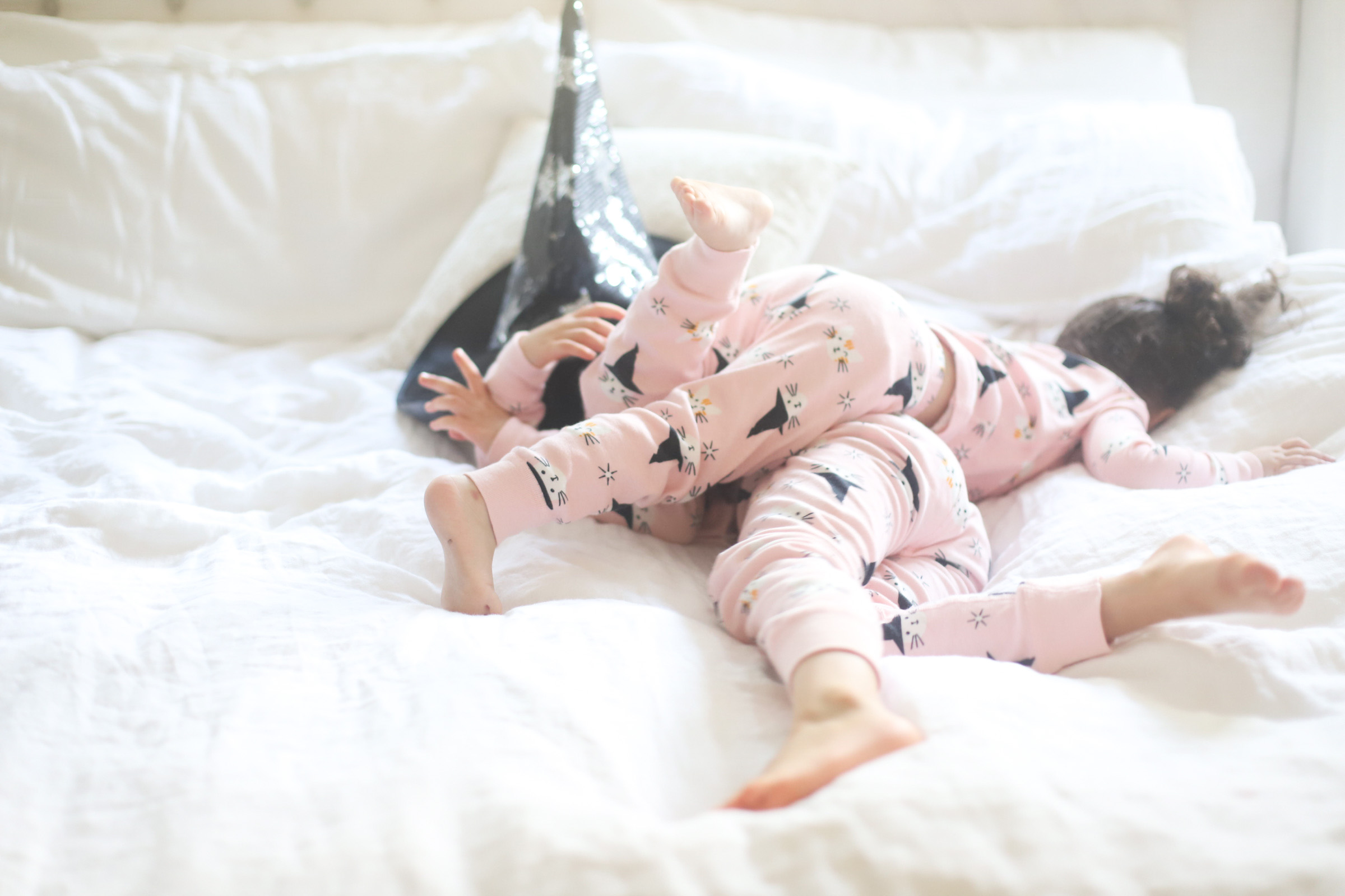 pink kitty pajamas