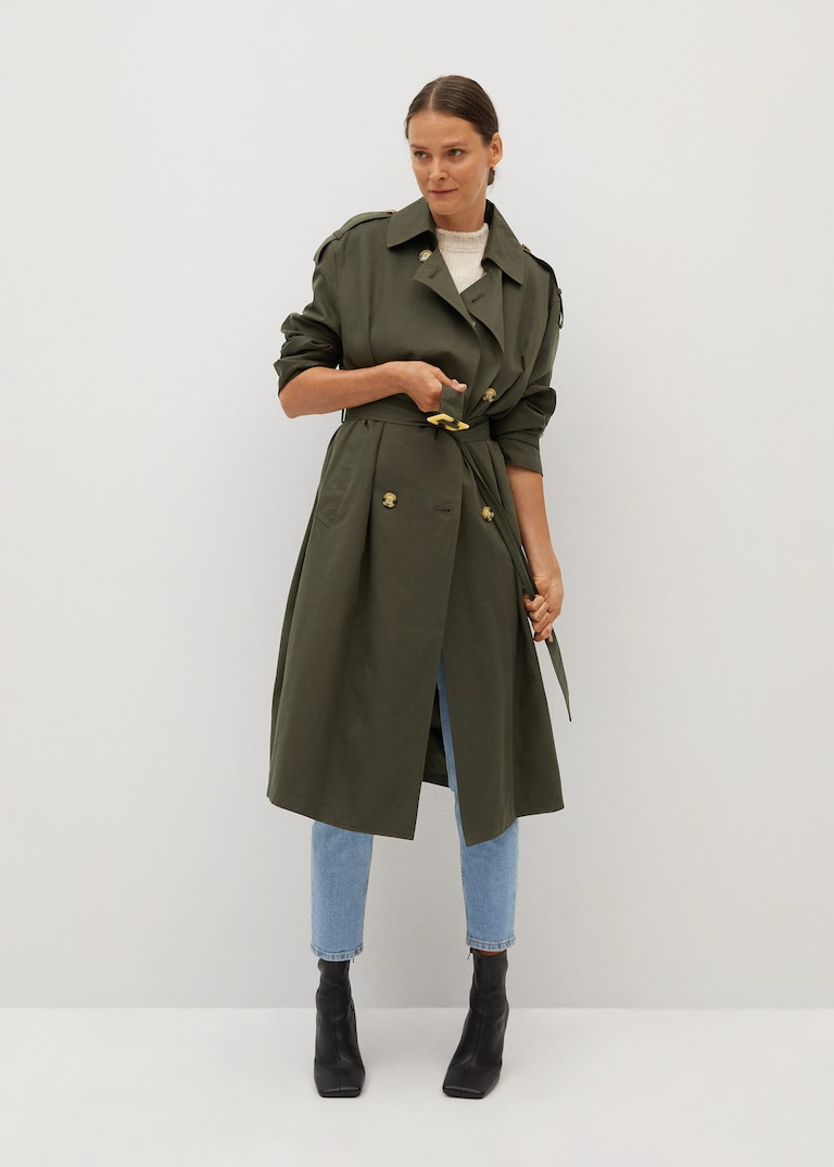 Weekly Finds +  Mango Classic belted trench