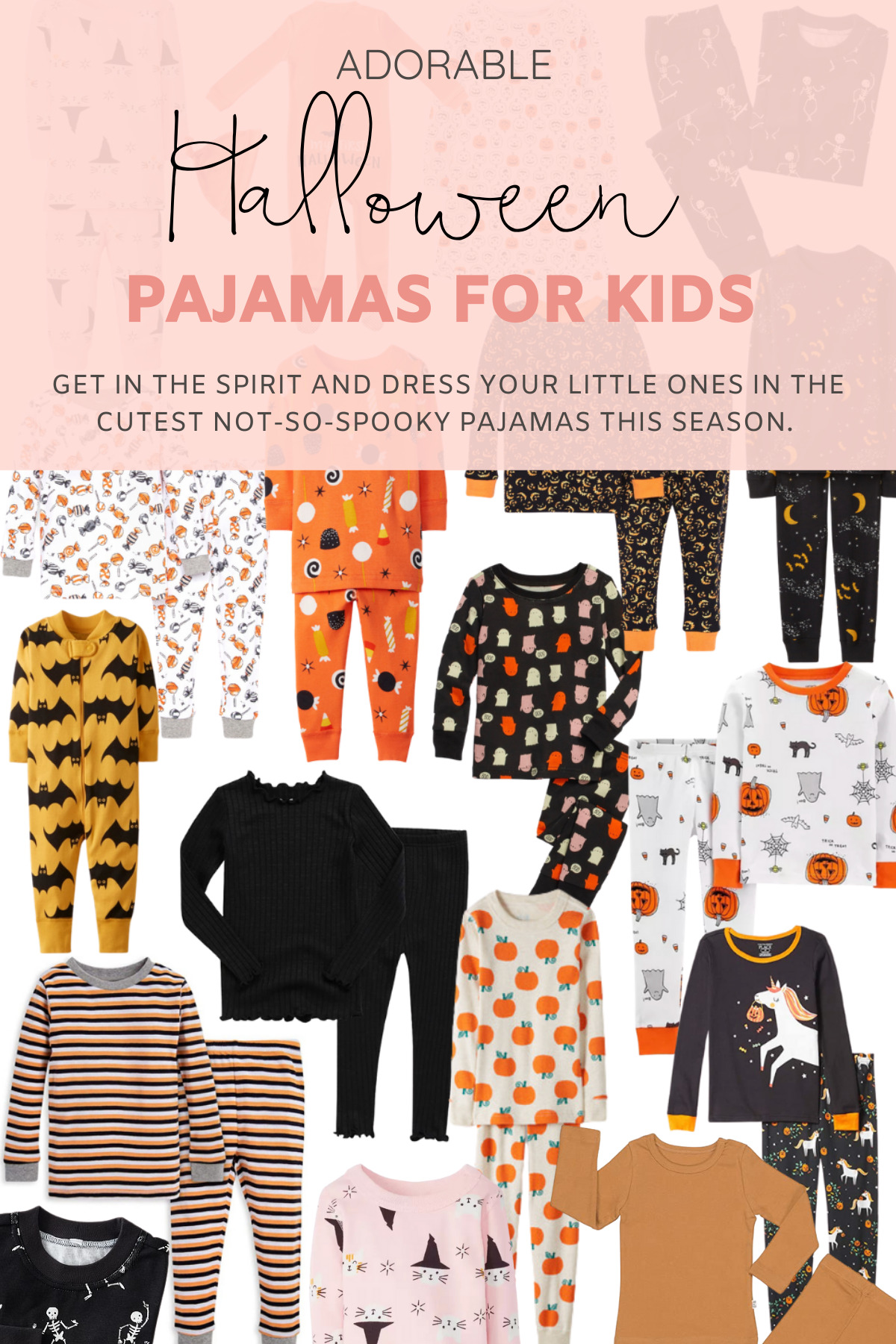 The Cutest Halloween Pajamas for Kids This Year