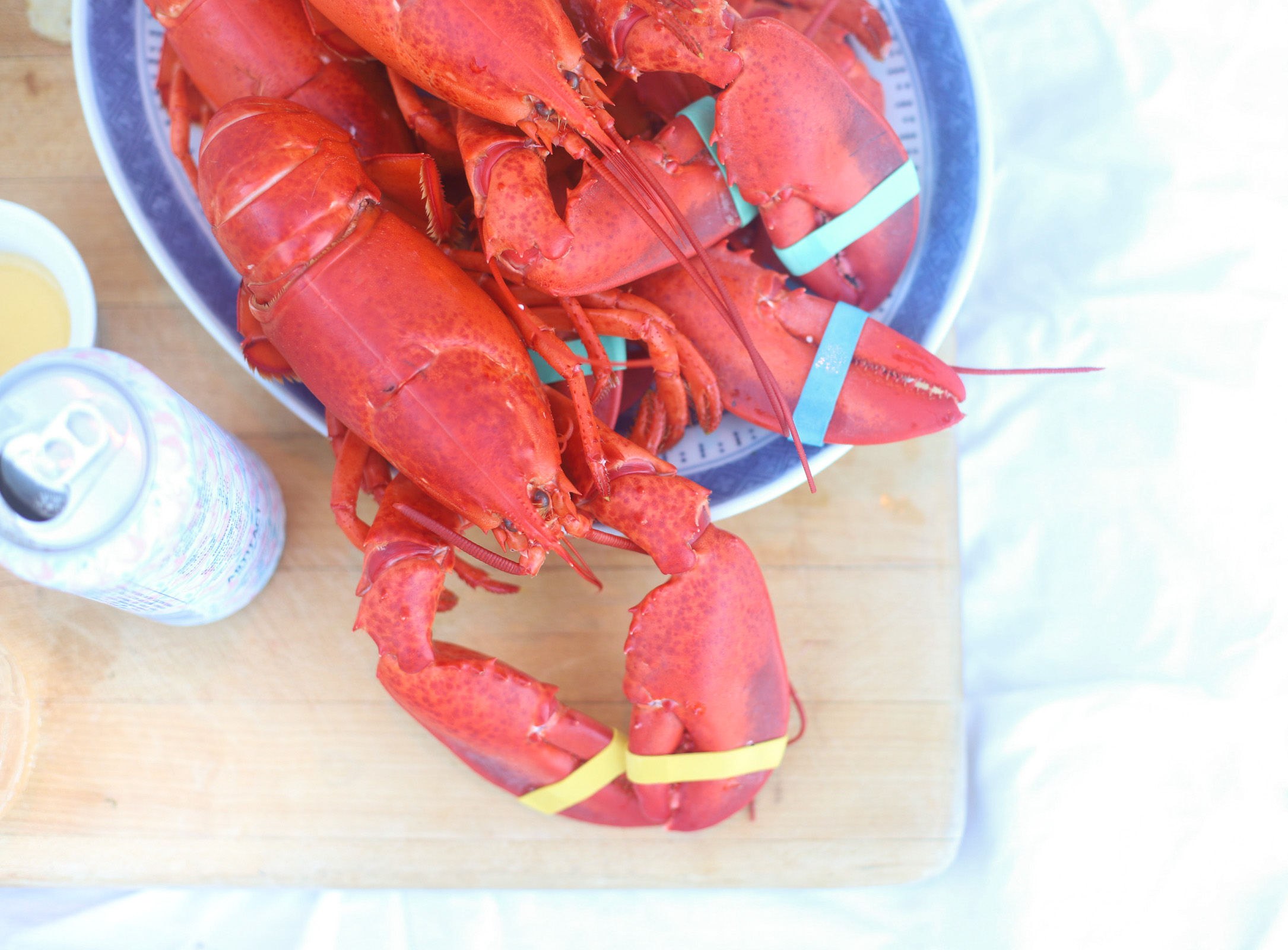 Highlights from our summer trip to Maine, End of Summer Lobster Dinner | @glitterinclexi | GLITTERINC.COM