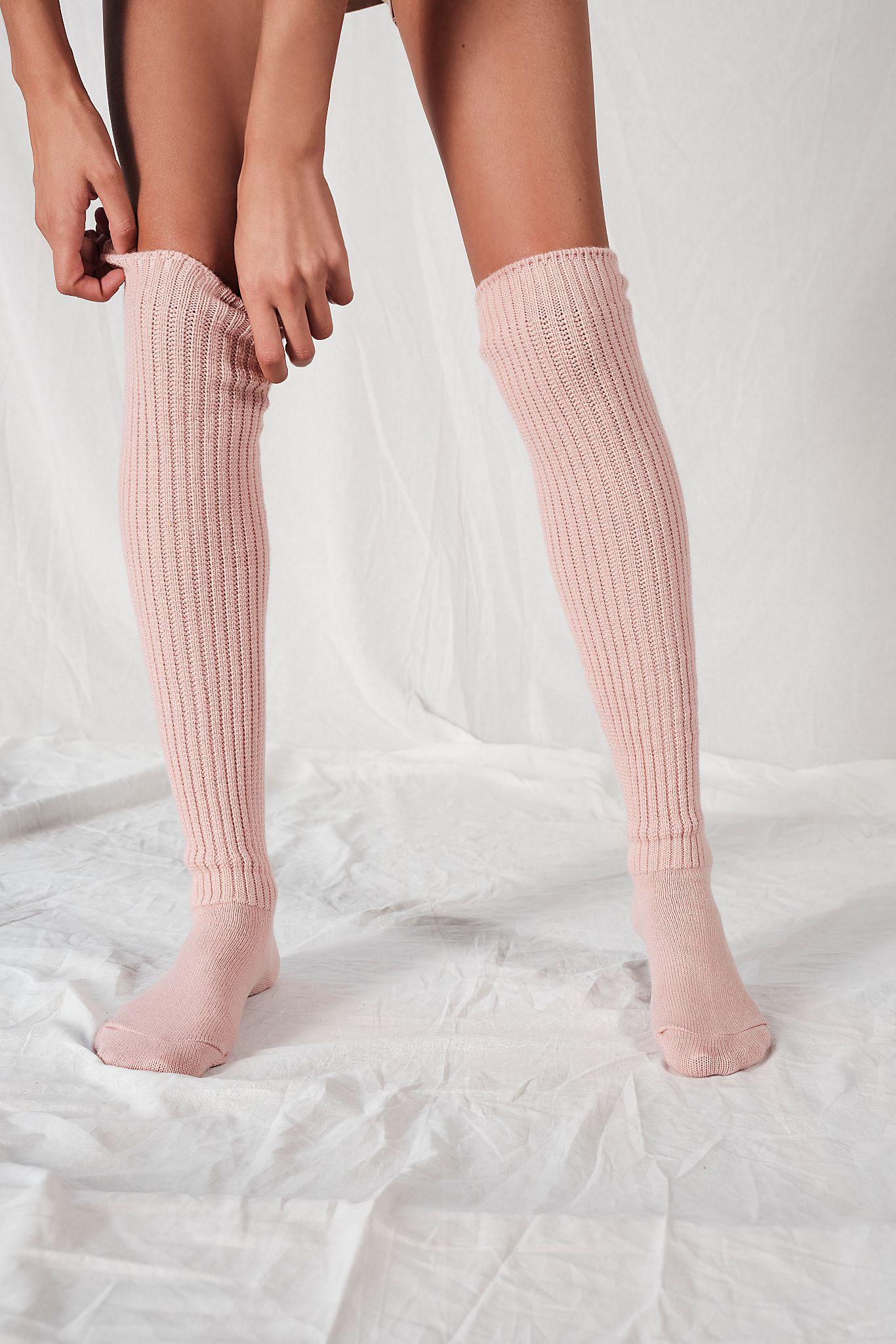 Bulky Knit Over-The-Knee Socks