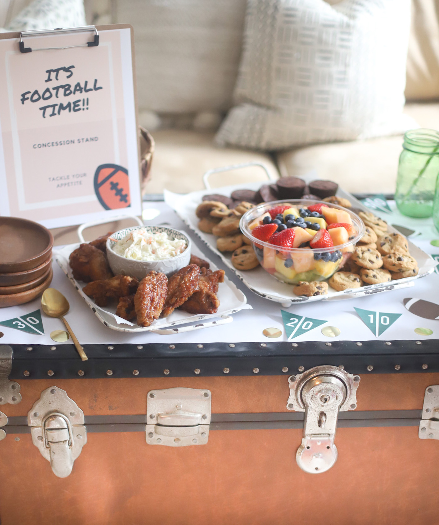 How to Throw an Easy Gameday Party at Home