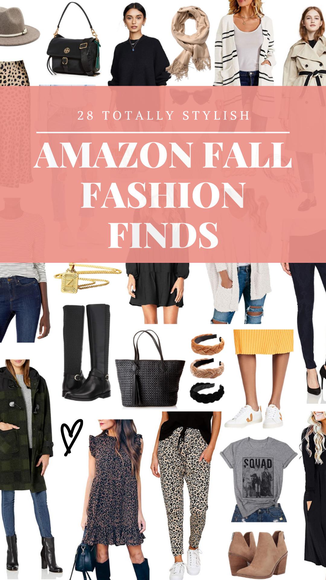 28 Stylish Amazon Fashion Finds for Fall