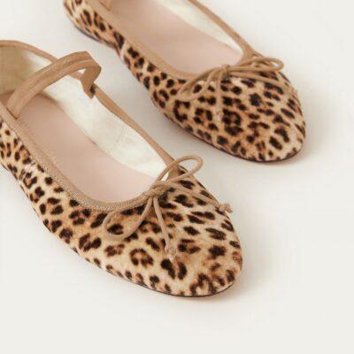 Loeffler Randall Leonie Soft Ballet Flat Leopard