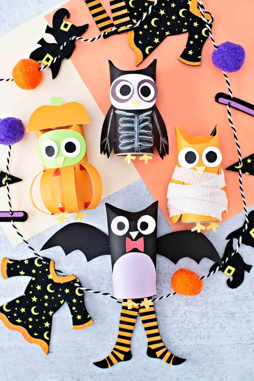 7 Easy Halloween Crafts and Hands-On Activities to do with Young Kids