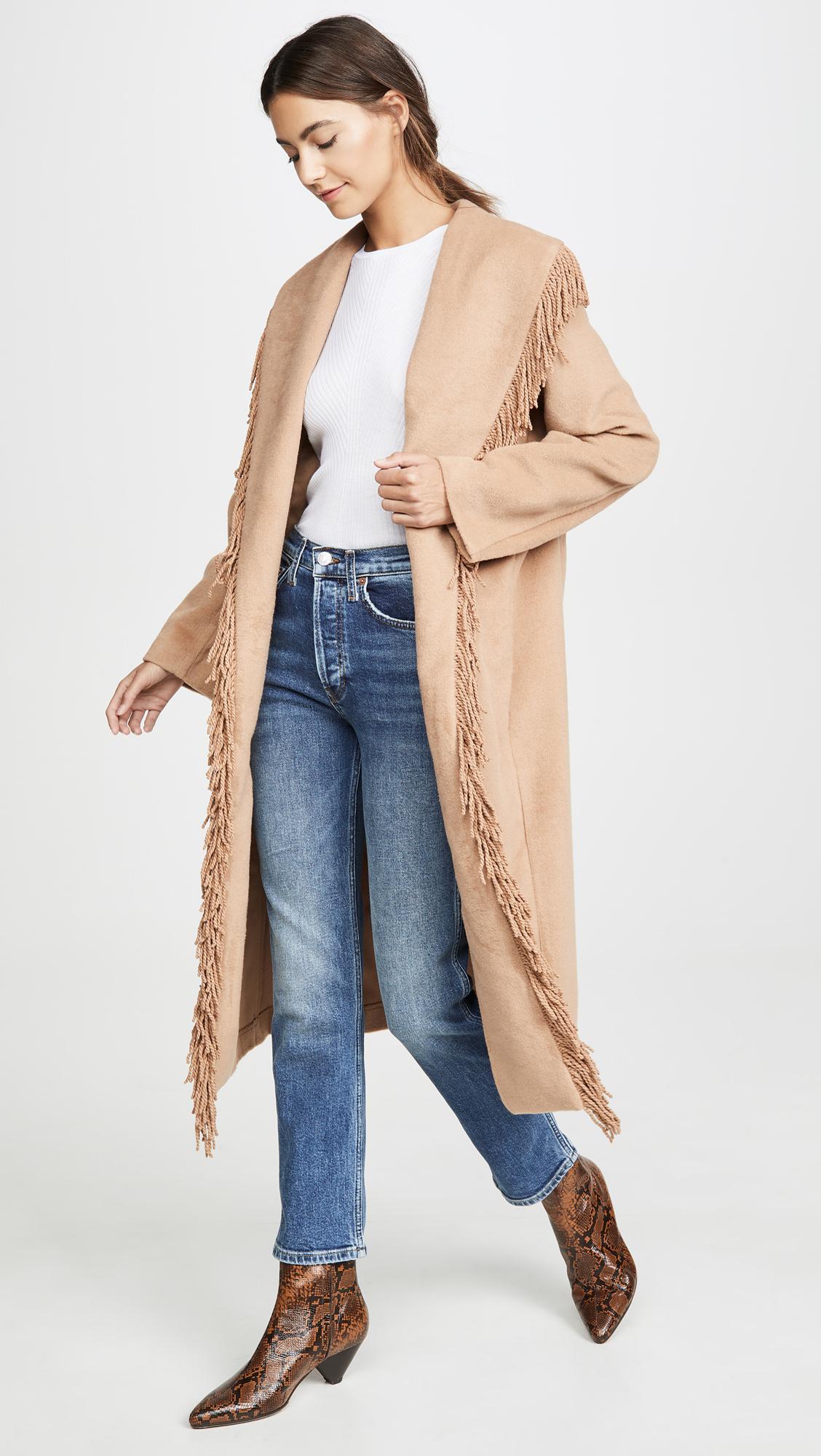 WEEKLY FINDS + Line & Dot Linda Fringe Coat