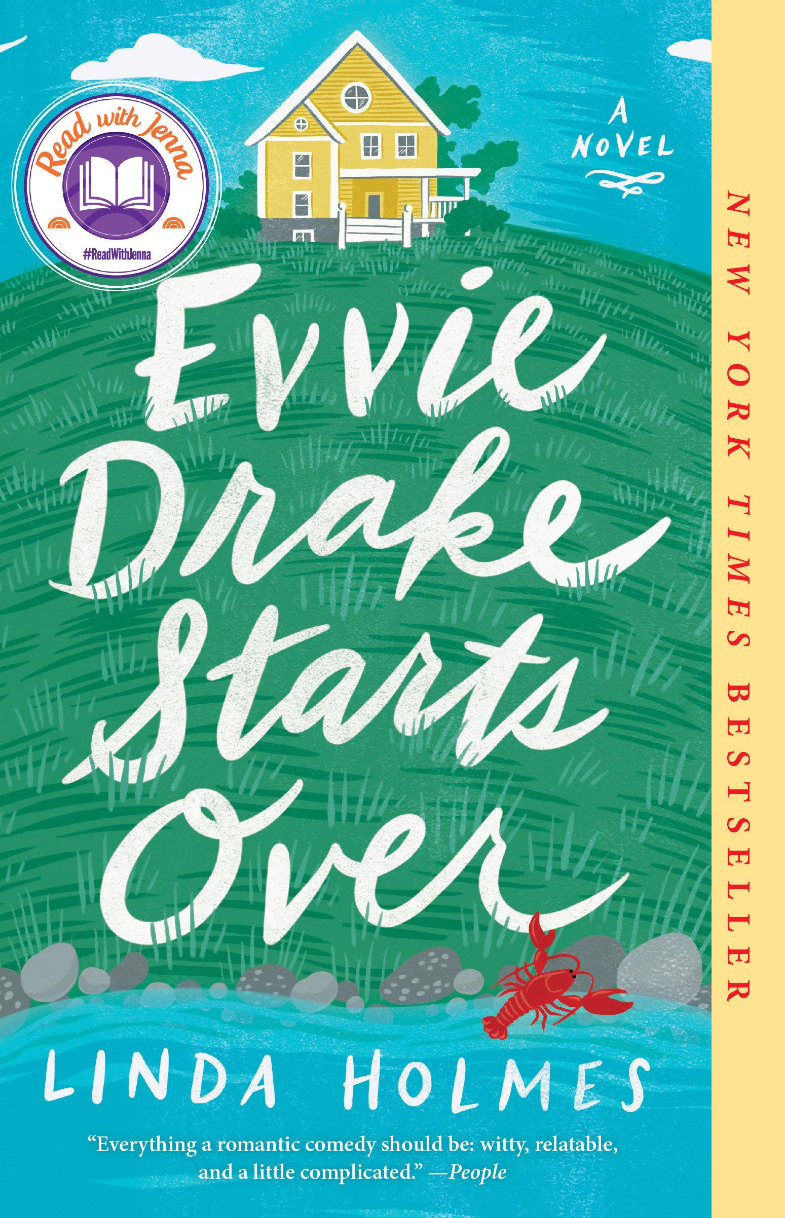 5 Books I Recently Read and Loved | Evvie Drake Starts Over by Linda Holmes