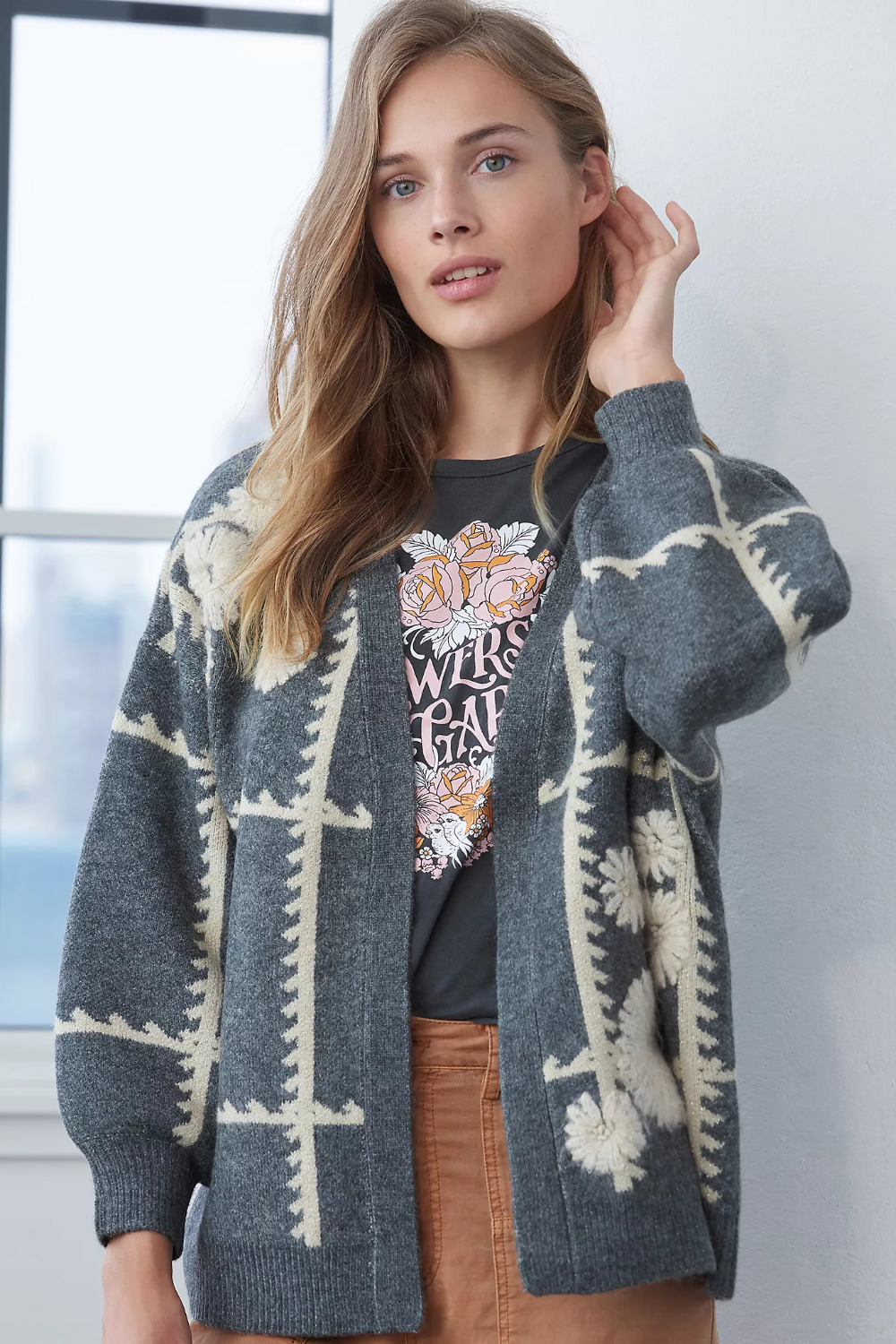 WEEKLY FINDS - Including this Anthropologie Catherine Floral Shine Cardigan