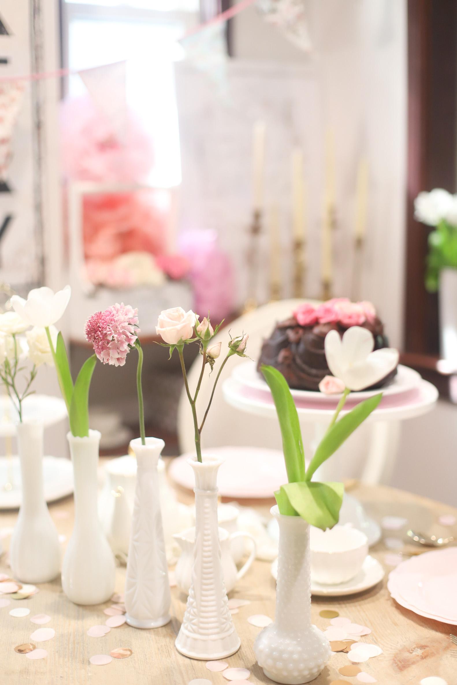 Emmeline's 3rd Birthday Tea Party at Home | @glitterinclexi | GLITTERINC.COM