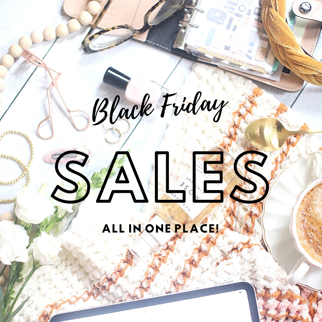 The Best Black Friday and Cyber Monday Sales, All in One Place // GLITTERINC.COM